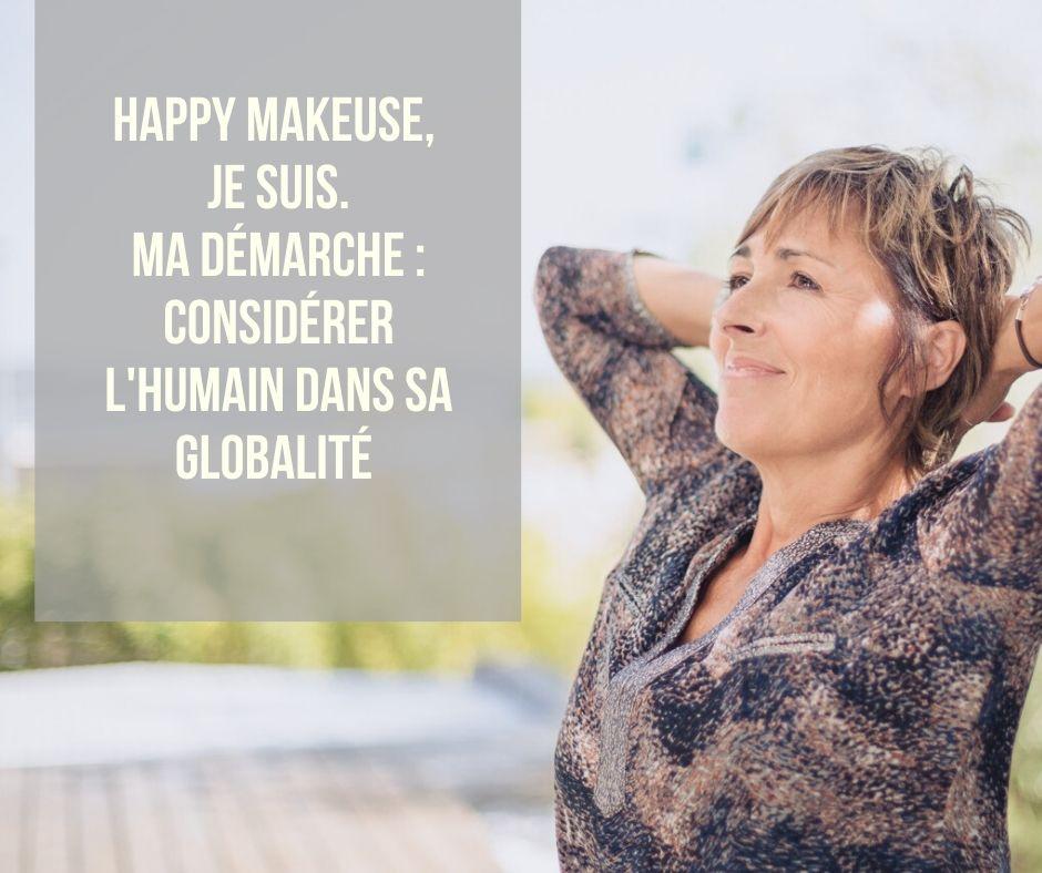 Sophie Verniers - Coach certifiée et Happy Makeuse - Process'Com - Yin yoga - Méditation Pleine Conscience