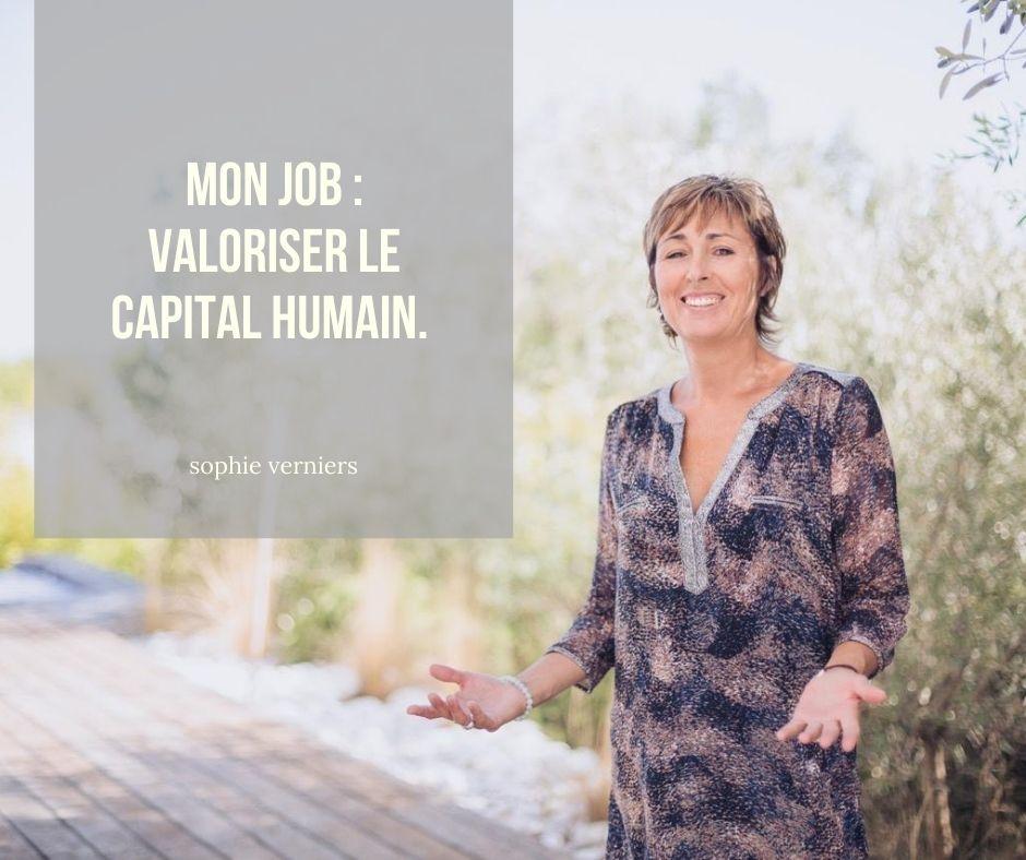 Sophie Verniers - coaching éthique et ateliers bien-être